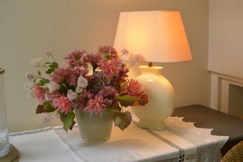 コンソール秋の花