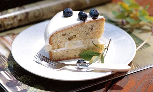 バナナレイヤーケーキ