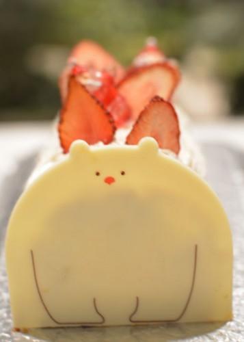 ジンジャーシロップケーキホ