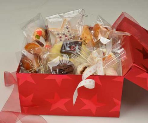 ボックス入りクリスマスお菓